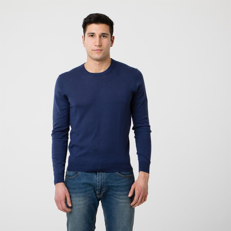 c5f96359d249 Round neck sweater
